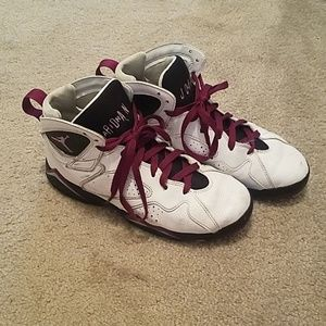 Air Jordan Retro 7 GG 'Fuchsia Glow' Shoes